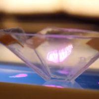 """Con un poco de bricolaje tu smartphone también podrá generar """"hologramas"""""""