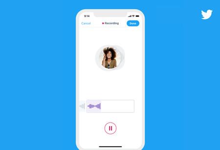 Los audios llegan a Twitter con 'tweets de voz': así funcionan