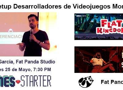 Asiste al primer Meetup de desarrolladores de videojuegos en Monterrey