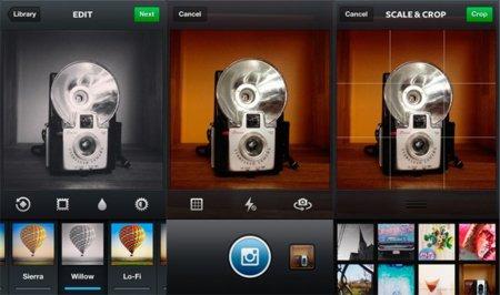 Instagram lanza mejoras en la cámara para iOS, integración con Foursquare y un nuevo filtro