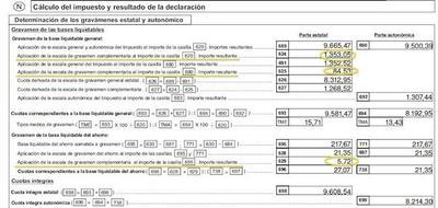 ¿Cuánto pagas a Hacienda por tu declaración de la renta y cuánto ha subido el IRPF Rajoy?
