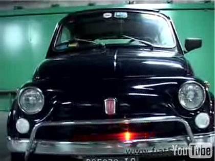 ¿Y si el Coche Fantástico fuera un Fiat 500?