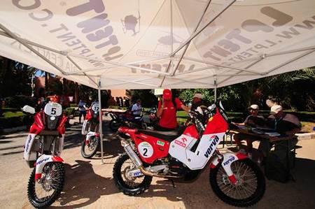 Rally de Marruecos 2009, primera etapa