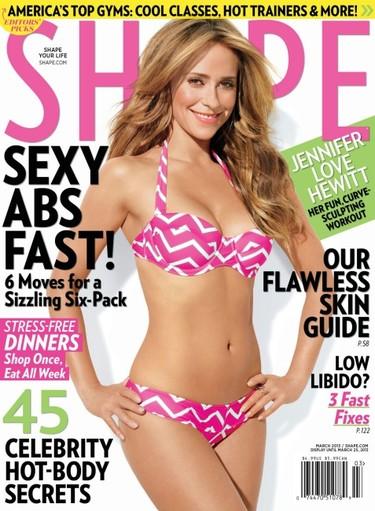 Jennifer Love Hewitt, si el Photoshop tuviera alcohol, tú irías bien arreada