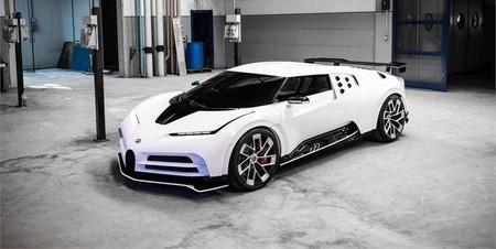 ¡Filtrado! El Bugatti Centodieci es tan rápido que se adelanta a su fecha de estreno