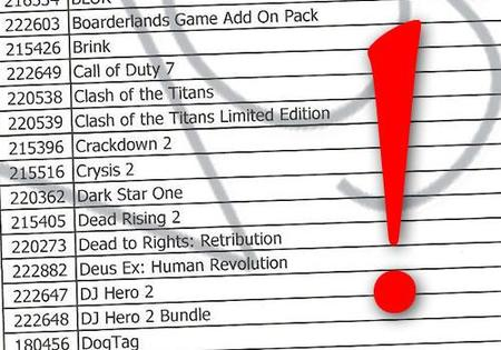 'Crysis 2', 'Call of Duty 7', 'Band Hero 2', 'Brink', 'Fallout: New Vegas'... ¿filtradas sus fechas de lanzamiento?