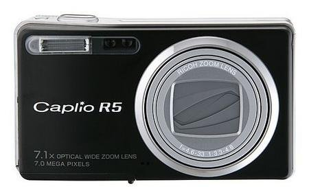 Ricoh Caplio R5 ya está fuera