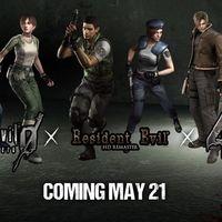 Resident Evil 0, Resident Evil HD Remaster y Resident Evil 4 llegarán a la eShop de Nintendo Switch el  21 de mayo