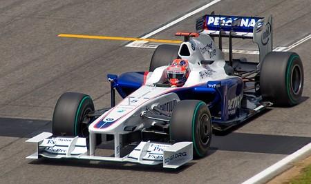 Kubica Bmw Sauber F1 2009
