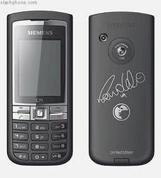 Teléfono Siemens C75 edición Ronaldo
