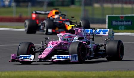 Lance Stroll asusta con su Racing Point en Silverstone y marca territorio ante la llegada de Nico Hulkenberg