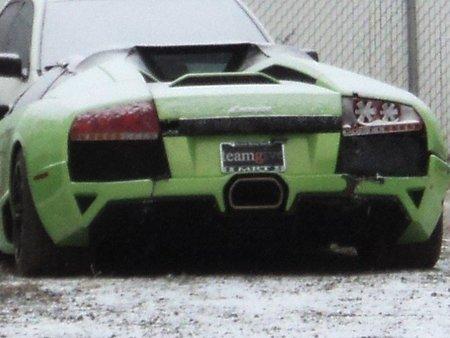 David Dopp y su Lamborghini Murciélago