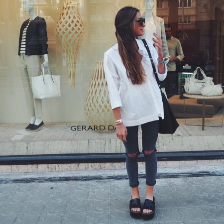 Ripped Jeans Tendencia Instagram 2