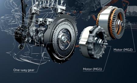 Motor del Toyota Prius Plug-in Hybrid