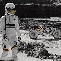 El próximo vehículo lunar de la NASA podría ser este prototipo basado en una moto eléctrica con 115 km de autonomía
