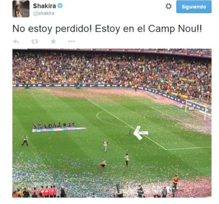 Twitter Shakira