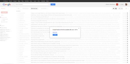 Google Reader desaparecerá el 1 de julio