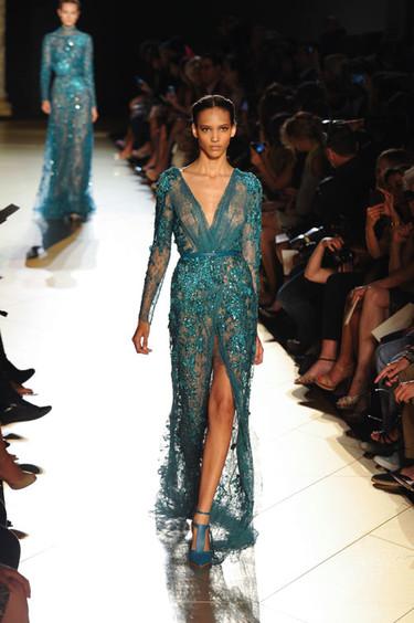 Elie Saab Alta Costura Otoño-Invierno 2012/2013: ¡simplemente es la magia de la moda!