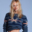 Karl Lagerfeld bebe los vientos por Nadine Strittmatter, una modelo suiza de 30 años