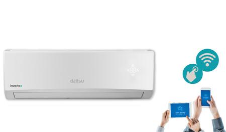 La conexión Wi-Fi y el gas R32 llega a los nuevos aires acondicionados que ha presentado Daitsu