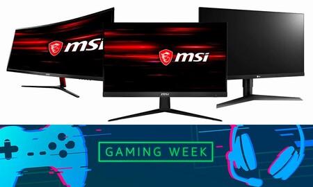 Monitores Gaming Week
