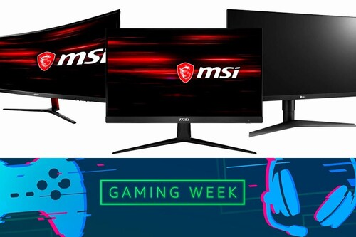 Estos 15 monitores de ASUS, HP, MSI, Ozone o Samsung te salen más baratos en la Gaming Week de Amazon