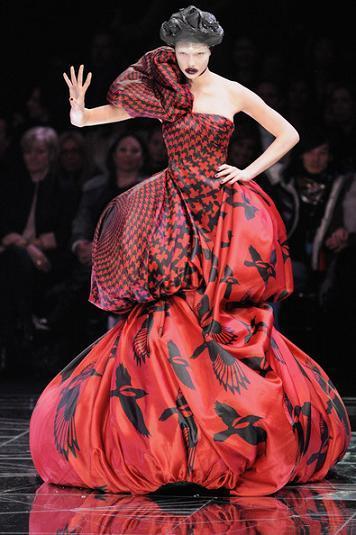 Alexander McQueen Otoño-Invierno 2009/2010 en la Semana de la Moda de París