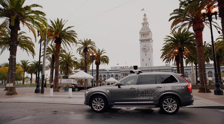 California expulsa del estado a Uber y su flota de Volvo XC90 autónomos