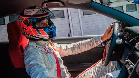 Jenson Button cierra el círculo del Honda Civic Type T con un nuevo record en Hungaroring