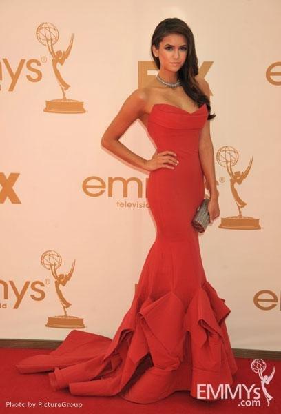 Nina Dobrev Emmy 2011