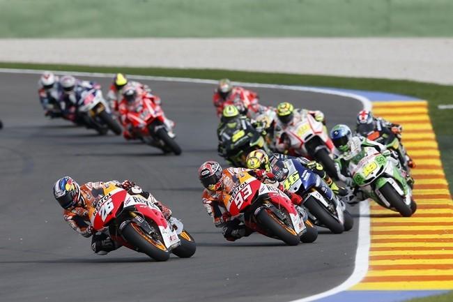 Salida MotoGP Valencia