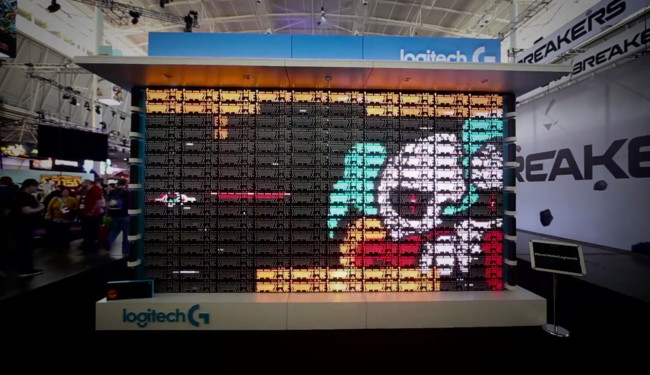 The Great Wall Of Logitech