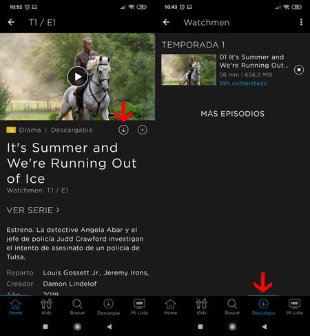 HBO España en dispositivos Android