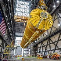 El SLS de la NASA está listo: así es el cohete más grande que han construido hasta la fecha con 65 metros de altura y 85 toneladas