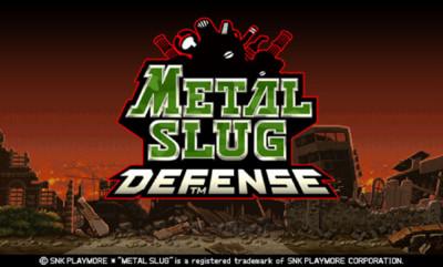 Metal Slug Defense, el nuevo juego de estrategia Free-to-play de SNK Playmore para Android