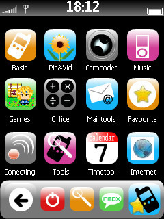 iTheme, interfaz del iPhone para Series 60