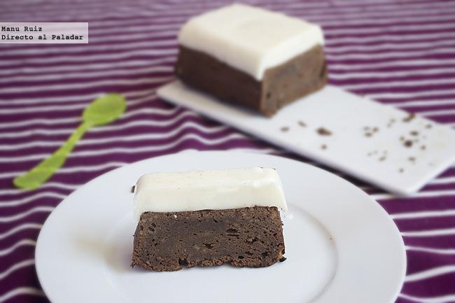 Delicia de chocolate y leche condensada receta - Postres con gelatina y leche condensada ...