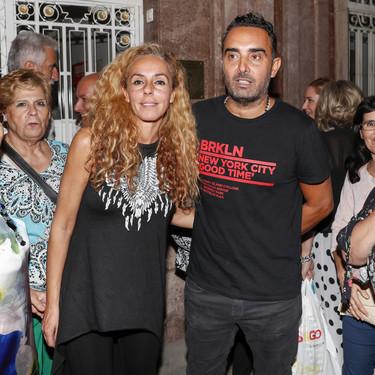 Rocío Carrasco y Fidel salen del museo para dar cera a Amador Mohedano tras el Deluxe