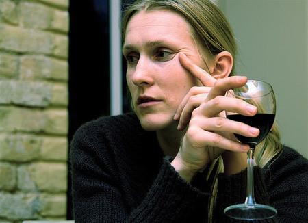 La mujer y el vino