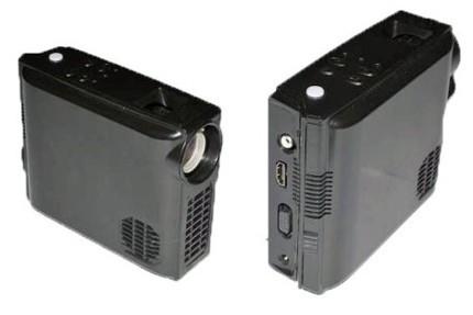 Pico proyector de Forever Plus con resolución 720p