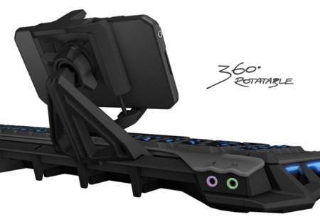Roccat Skltr pondrá un smartphone a tu teclado para ampliar sus posibilidades