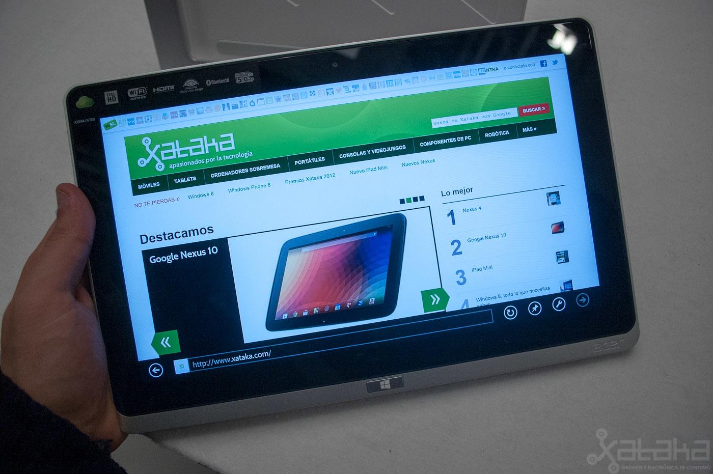Foto de Acer Iconia W700, primeras impresiones (5/15)