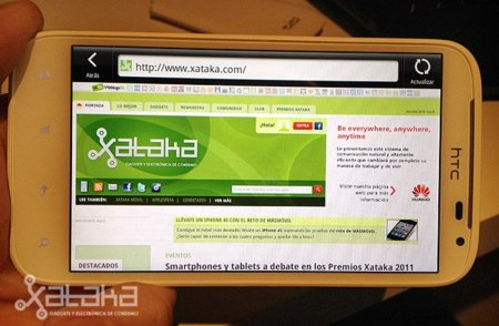 HTC Sensation XL. Análisis (I)