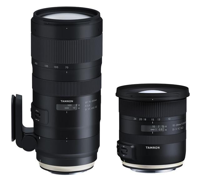 Tamron SP 70‐200mm ƒ2.8 y 10-24mm ƒ3.5-4.5, nuevos objetivos tele y gran angular para renovar el catálogo de la firma
