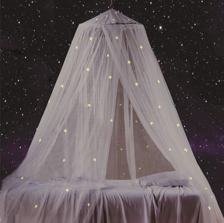 South To East - Dosel de Cama con Estrellas Fluorescentes Que Brillan en la Oscuridad