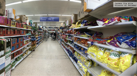 Supermercado Patatas Fritas