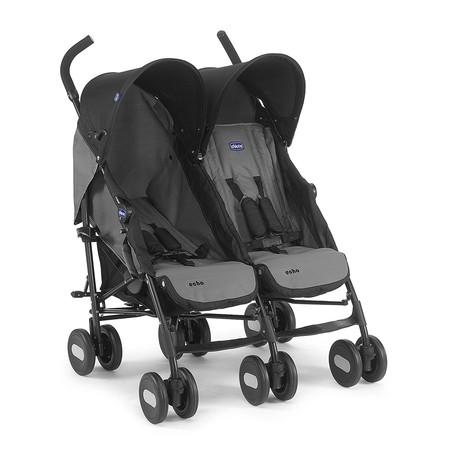 Amazon se adelanta al Black Friday y nos ofrece la silla de paseo gemelar Chicco Echo Twin por 141,71 euros