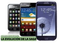 La evolución de la saga Samsung Galaxy S