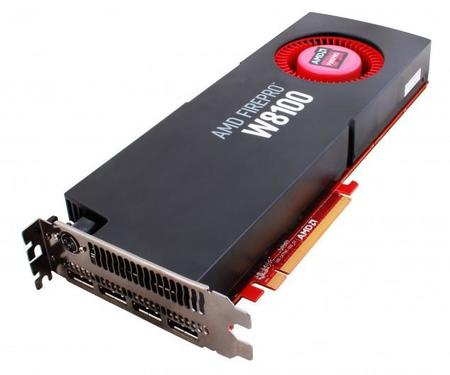 AMD FirePro W8100, gráficos profesionales para workstation