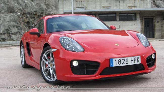 Porsche Cayman 2013 Presentación